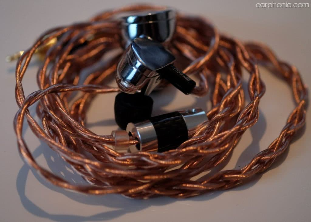 earphonia.com - Effect Audio Ares II + Plus Edition IEM Cable