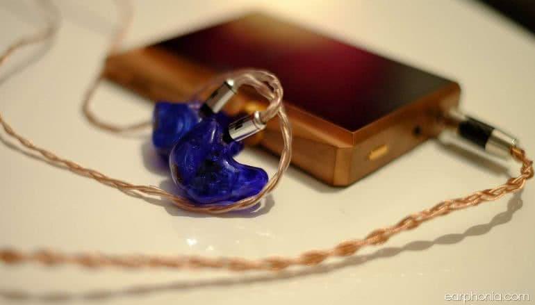 Earphonia.com - Jomo Samba Pro-Audio CIEM Astell and Kern AK380 Copper Pairing