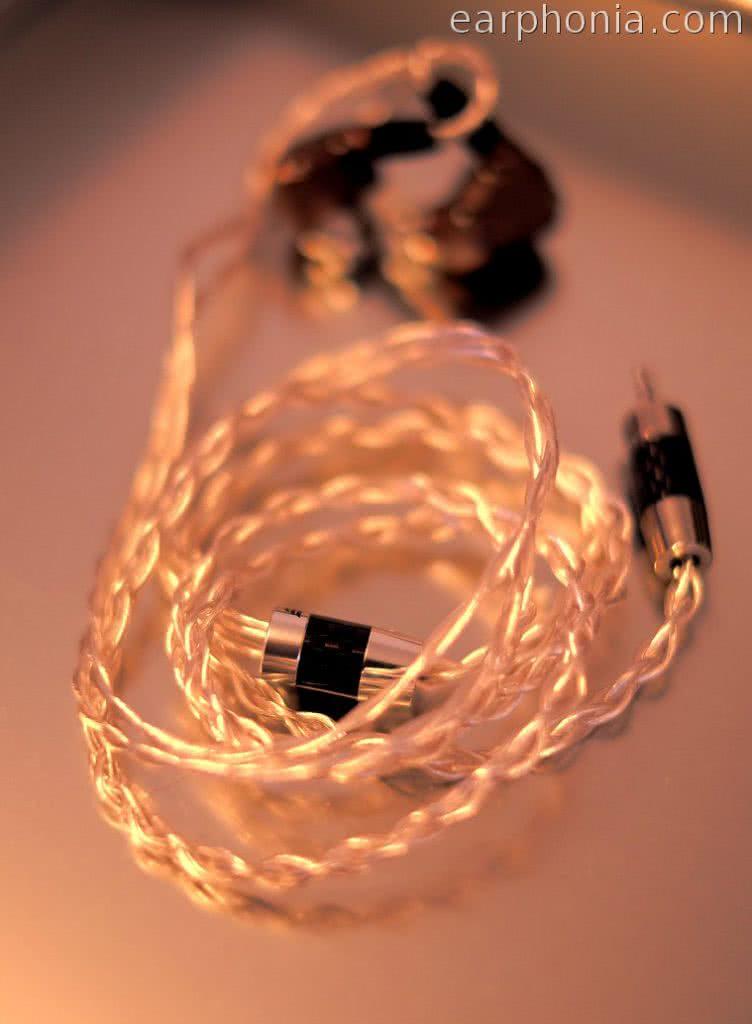 earphonia.com Effect Audio Thor Silver II - IEM Cable - Campfire Jupiter