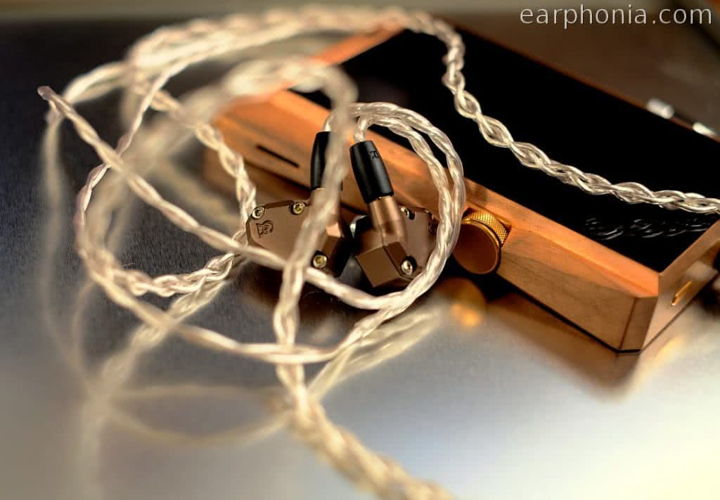 earphonia.com Effect Audio Thor Silver II - IEM Cable - Astell and Kern AK380 Copper