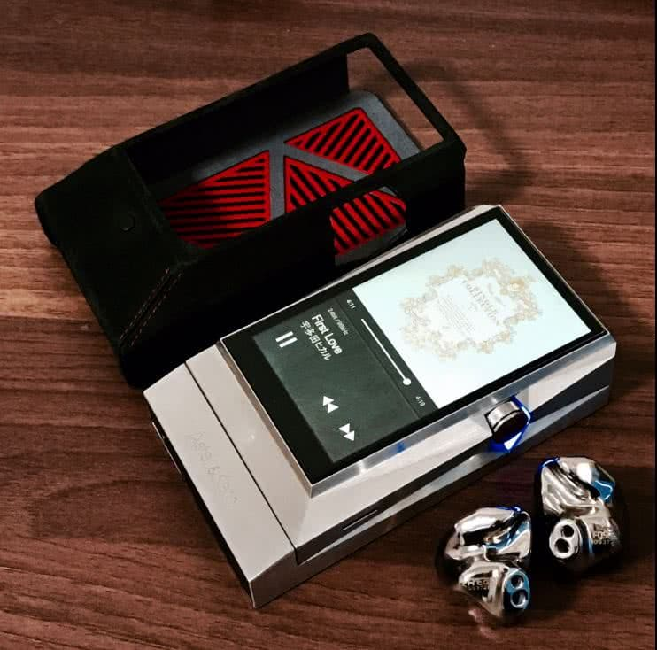 earphonia.com Astell and Kern AK380SS, FitEar Titan