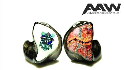 earphonia.com Advanced Acousticwerkes W900 Reference Hybrid CIEM