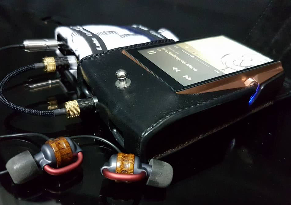 Rudi Rocks – Ocharaku AKA KEYAKI and Astell Kern AK380 Copper with Amp