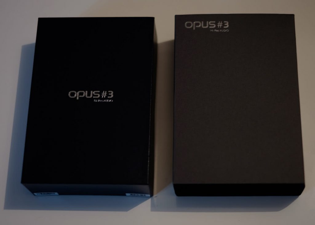earphonia.com Opus 3 Digital Audio Player Unboxing