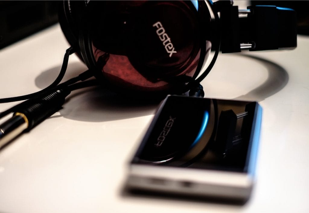 earphonia.com Opus 3 Digital Audio Player review Fostex TH900