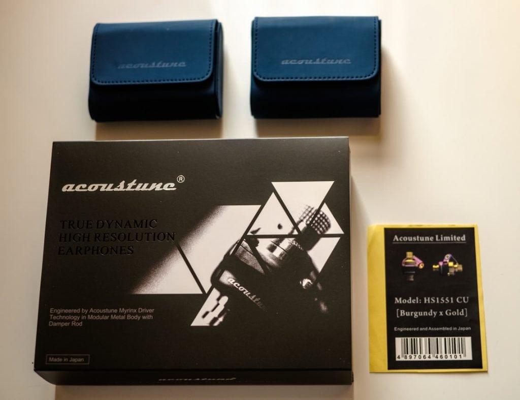 Acoustune Unboxing HS1501 AL / HS1551 CU at earphonia.com