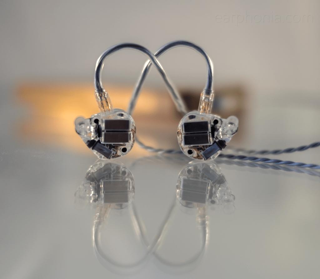 earphonia.com review of the EarSonics Velvet V2 Crystal Earphone