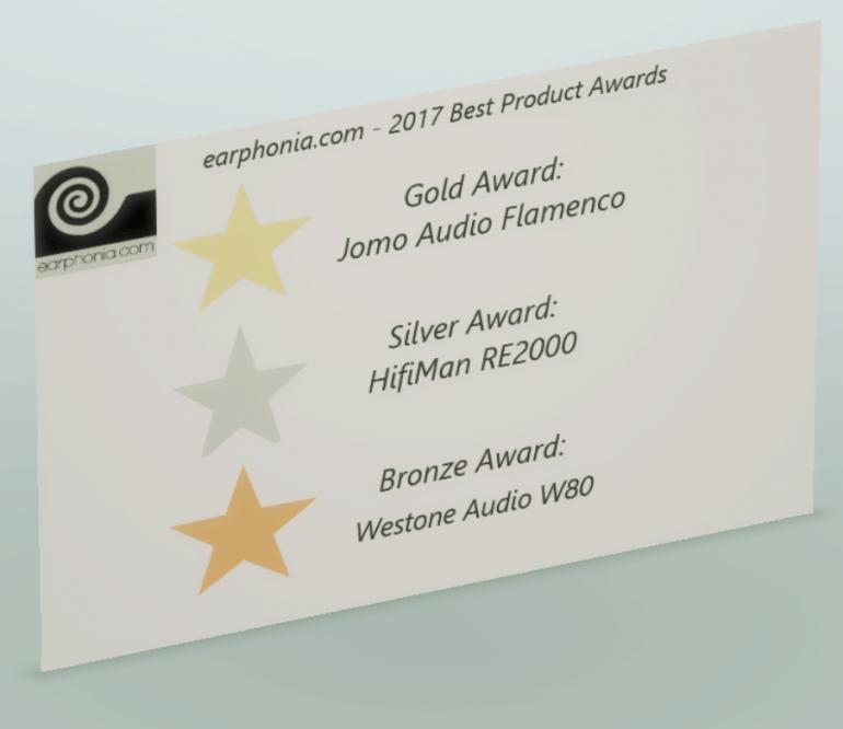 earphonia.com 2017 Awards
