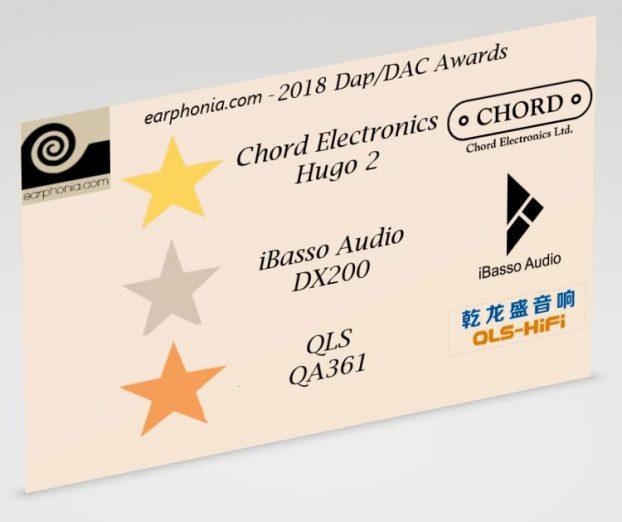 2018 Best Dap/Dac Awards | earphonia com